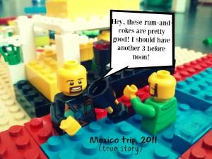 Lego Mexico trip