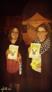 Right after acquiring our copy at the release party