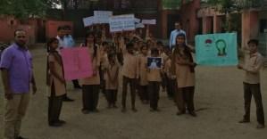 चण्डाली मे मतदाता जागरूकता रेली निकाली