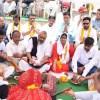 इंद्र देवता को प्रसन्न करने के लिए पुष्कर सरोवर पर विशेष पूजा अर्चना