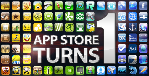 App Store Turns 1