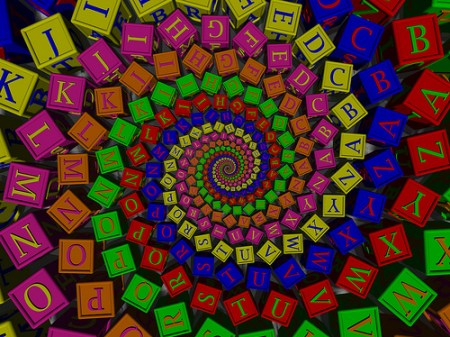 """Doyle Alphabet,"" by fdecomite, via Flickr."