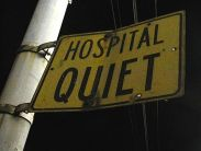 Hospital Quiet by striatic  / hobvias sudoneighm, via Flickr