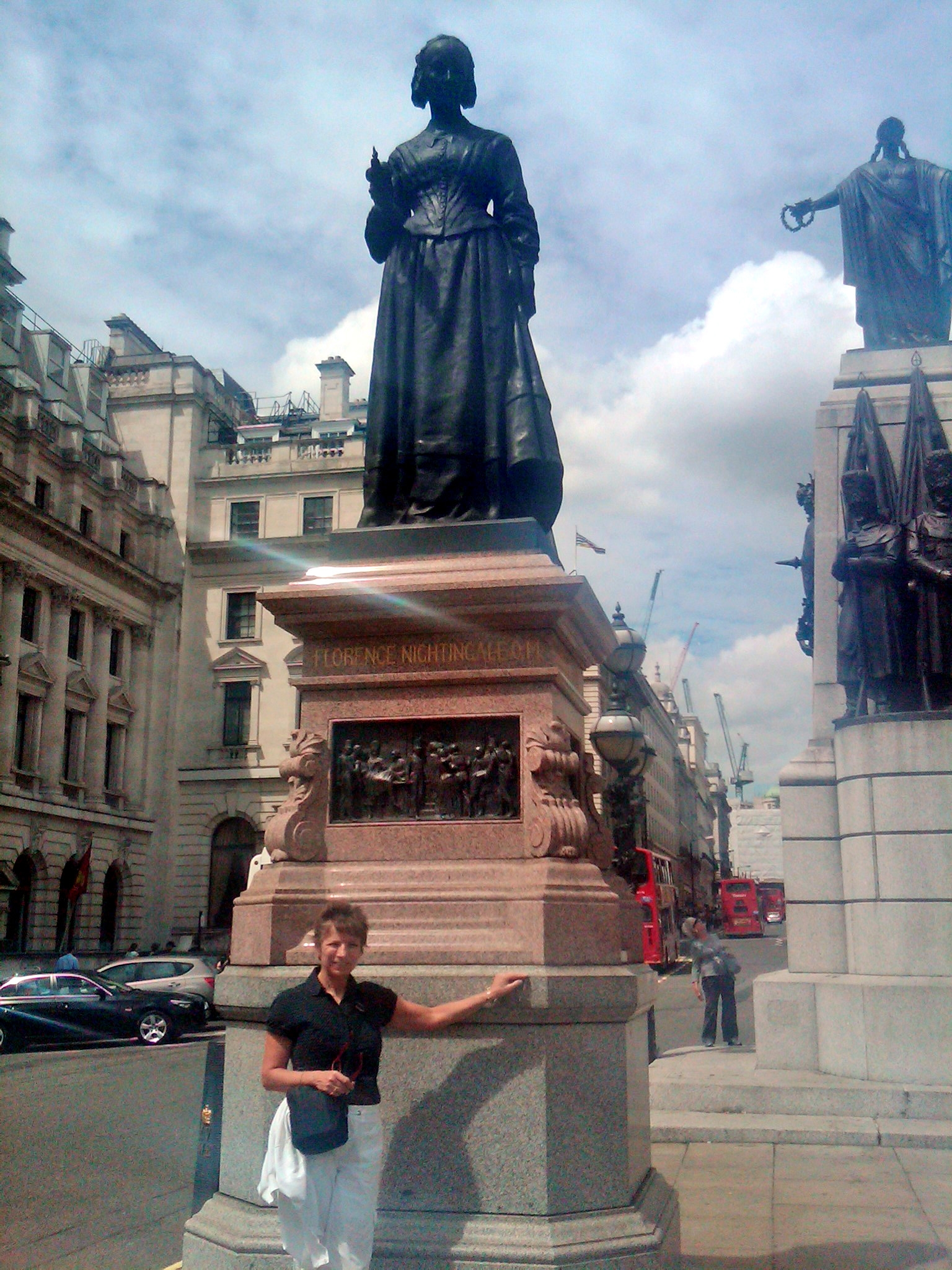 parting thoughts 10 lessons learned from florence nightingale s sue hassmiller at statue of florence nightingale london