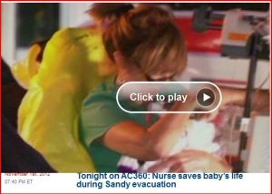 One of Many Hurricane Sandy Nursing Stories - Off the Charts