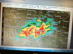 WeatherMapNewtornadoThreatOklahomaCity