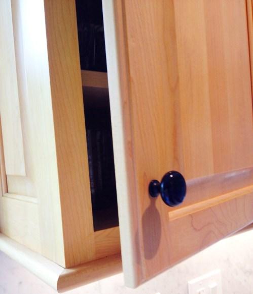 Photo of slow-close cabinet door