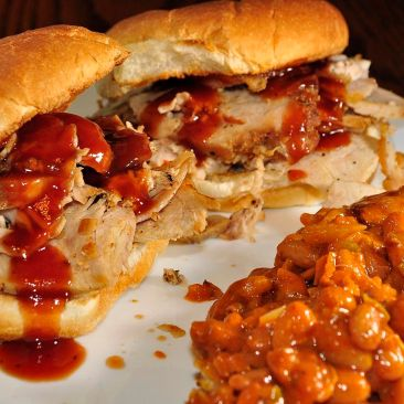 photo of pork sandwiches