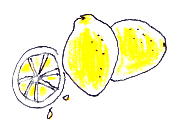 drawing of lemons
