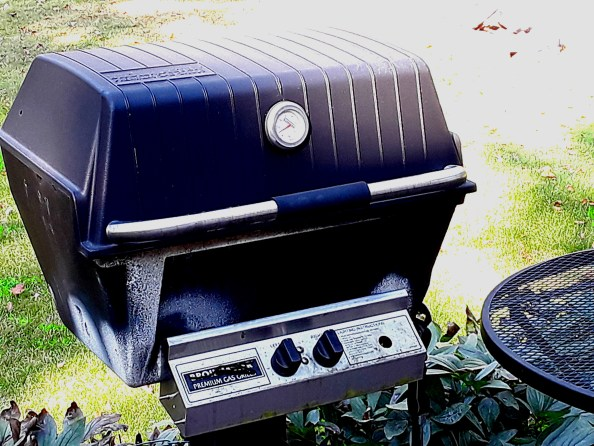 A well used grill