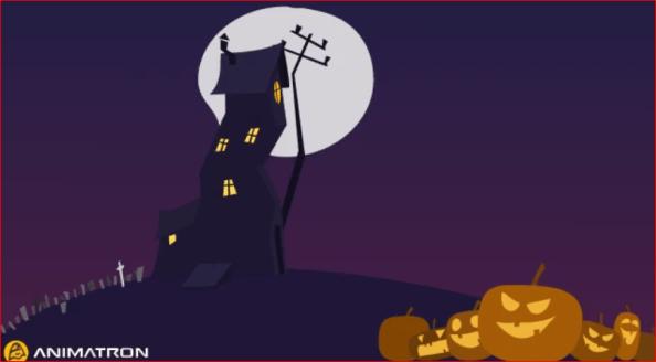 halloween animation