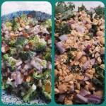 broccoli and kale salads