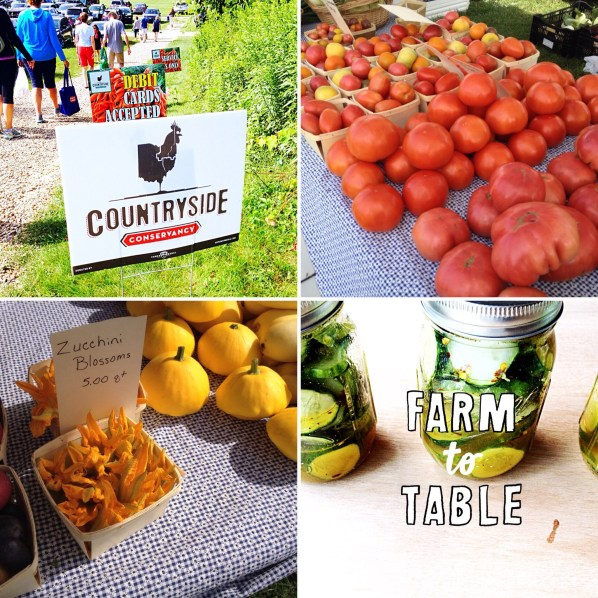 Saturday farmers markets are held all over Cleveland in the summer and fall.