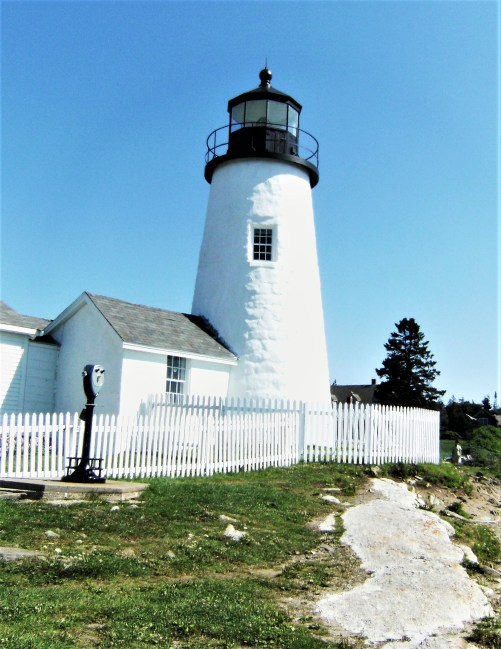 The Pemaquid Point Lighthouse Park allows spectacular views of the coast.