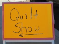 "The annual Quilt Show draws a big crowd with lots of ""Oooo's"" and ""Ahhh's""."