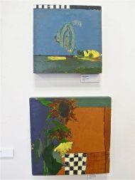 "Pilar Hanson, ""Visitation"" and ""Sunflower Study"""