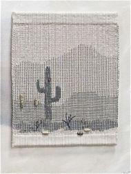 """Jolene Northup, 1 panel of """"Heart of the Sonoran Desert"""""""