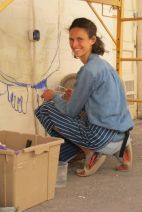 Tucson's Alice Glasser starts her mural