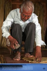 Por generaciones, el tule fue la materia prima para elaborar diversos objetos de la vida cotidiana. En la actualidad son pocas las personas que trabajan estas plantas, por lo que esta tradición se está perdiendo junto con las Ciénegas del Alto Lerma