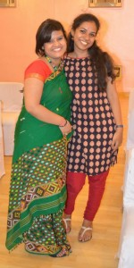 Sweta and Rituparna Dutta