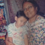Ronak with His Mummy Aunty