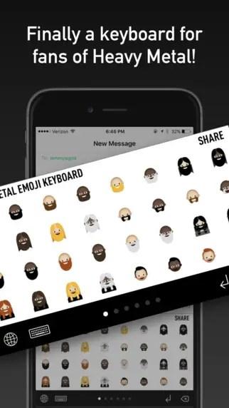 Metal Emoji Keyboard 2