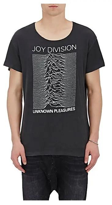 Barney's Joy Division t-shirt