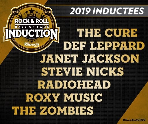 British artists dominate 2019 Rock and Roll Hall of Fame inductees
