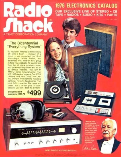 Radio Shack catalogue 1976