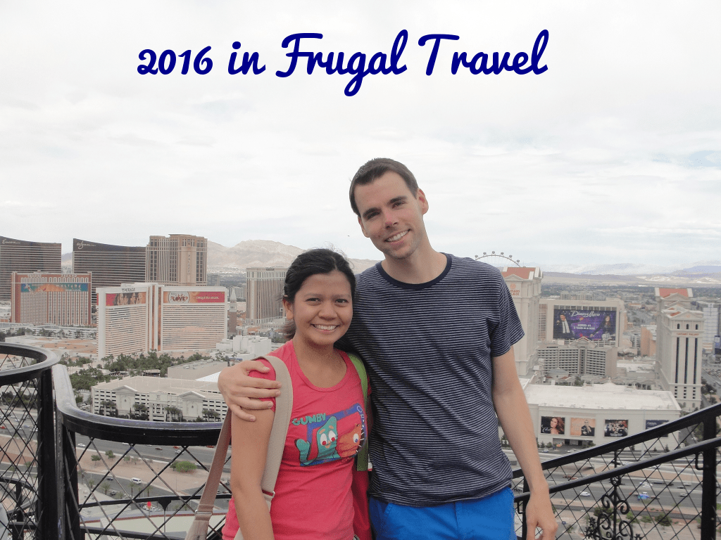 2016 Travels and Experiences on a Budget