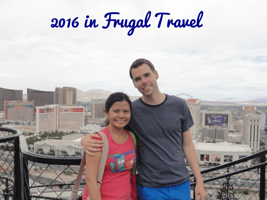 2016 in Frugal Travel