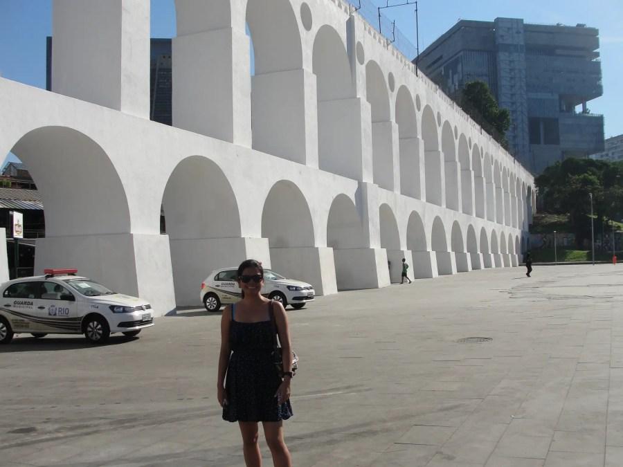 Lapa Arches in Rio de Janeiro, Brazil
