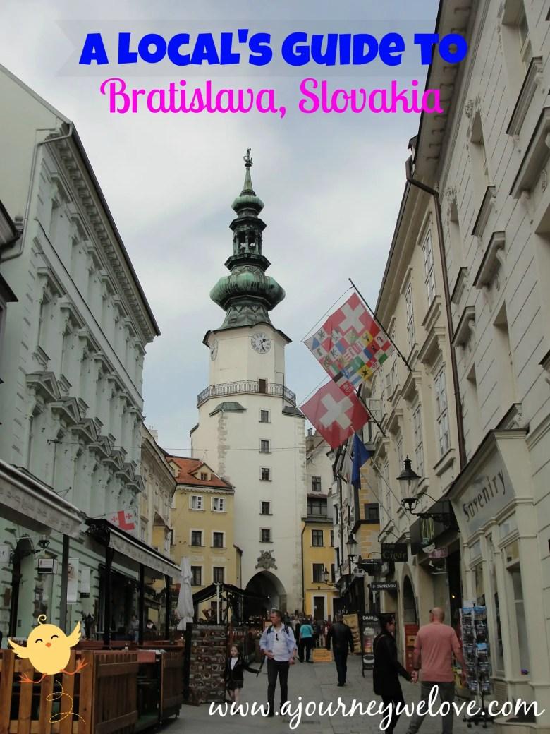 Guide to Bratislava Slovakia