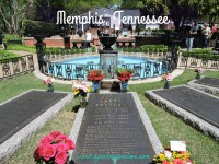 Elvis Presley's Grave, Graceland, Memphis, Tennessee