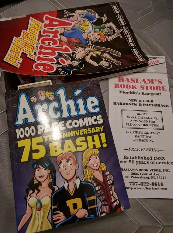 Haslams Bookstore Archie Comics Haul