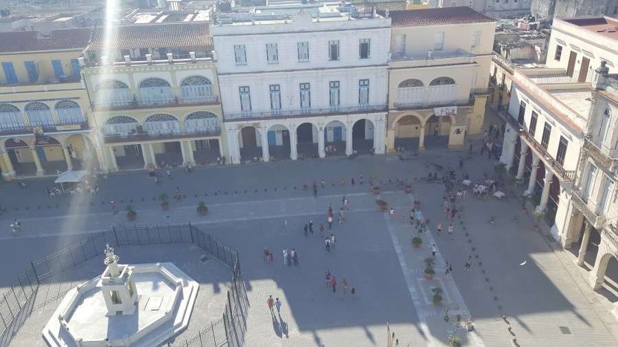 Beautiful Plaza Vieja