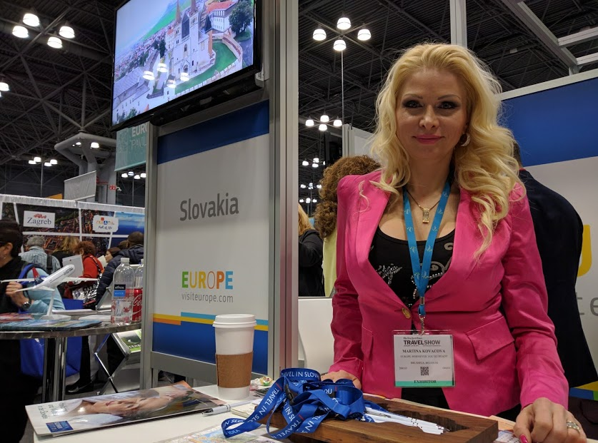 Slovakia Booth at New York Times Travel Show