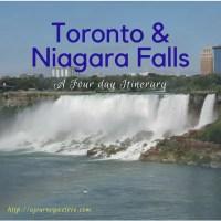 4 Day Niagara Falls and Toronto Canada Itinerary