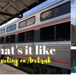 What's it like traveling on Amtrak