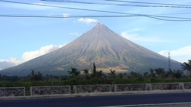 Mountains in Bicol Region