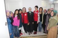 Con la ministra turca de Familia y Política Social