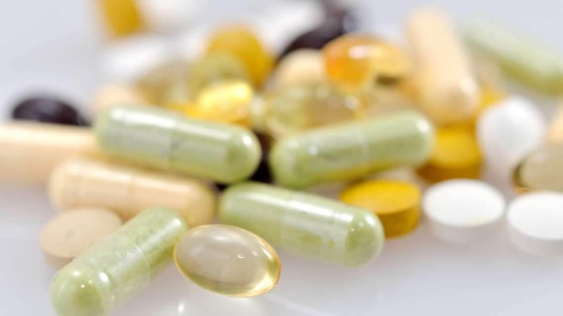 wellness: selection of complementary medicines