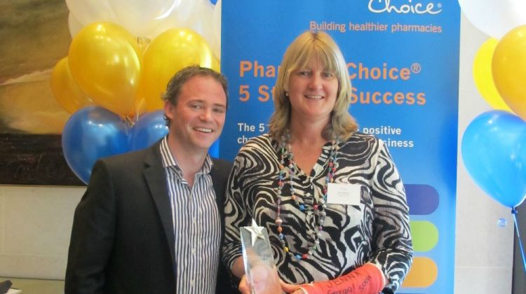 alison richards, pharmacy choice incentive program winner