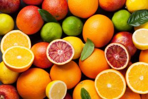 oranges, lemons and limes