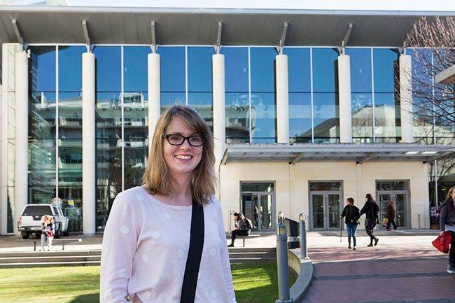 Amber Young. Image: University of Otago.