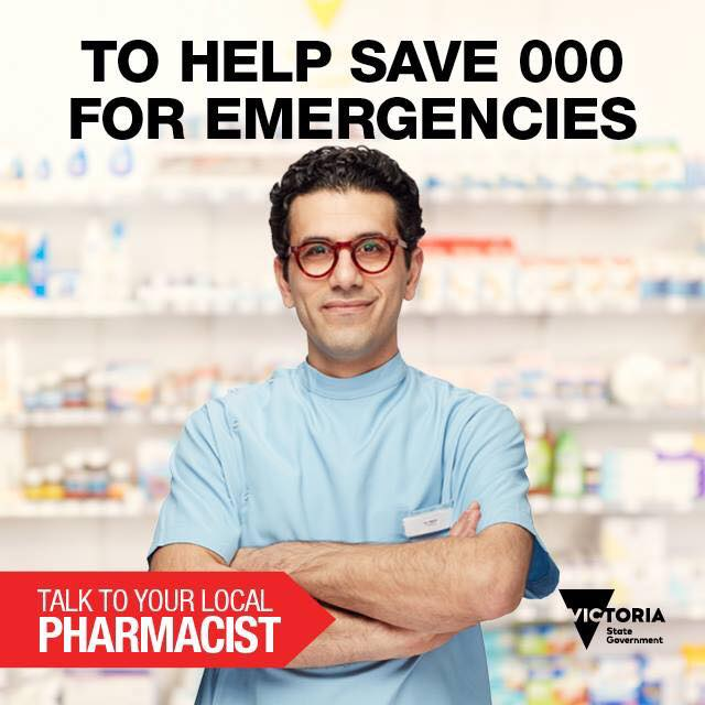 save 000 for emergencies poster