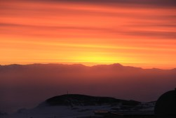 Perhaps the most radiant and colorful sunset we've seen in Antarctica yet!!
