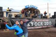 Ringing in the New Year 2013 at Ice Stock, McMurdo Station, Antarctica. HAPPY NEW YEAR 2013!!! © A. Padilla