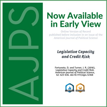 AJPS Author Summary - Legislative Capacity and Credit Risk