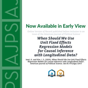 When Should We Use Unit Fixed Effects Regression Models for Causal Inference with Longitudinal Data?